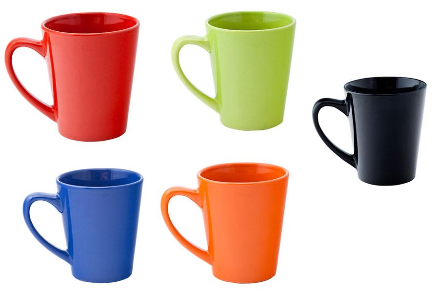 Taza de cer mica margaret en colores promolog a - Colores de ceramica ...