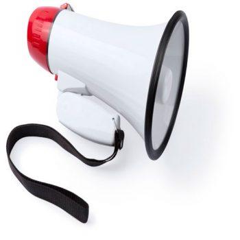 Megáfono para publicidad