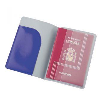 Funda pasaporte PVC promocional