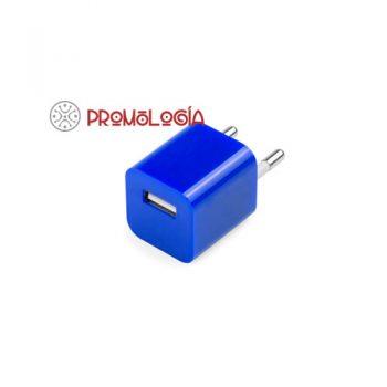 Cargador USB promocional para coche.