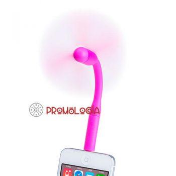 Ventilador para smartphone publicitario