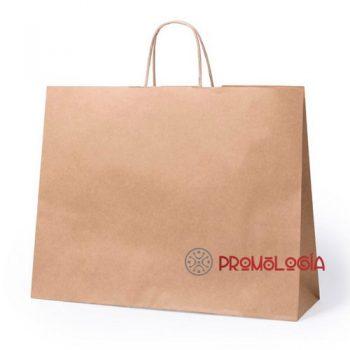 Bolsa de papel promocional para publicidad