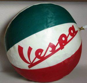 Balón publicidad Vespa