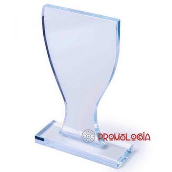 Trofeo placa de cristal para premios e incentivos