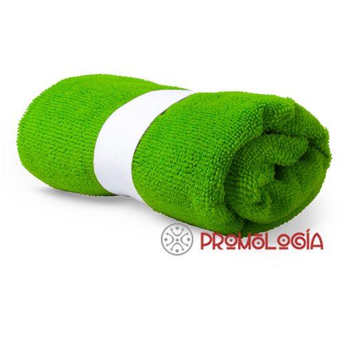 Toalla absorbente personalizable.
